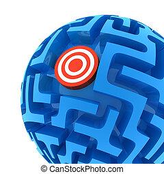 Sphere Maze puzzle