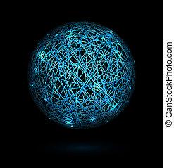 Sphere of lines