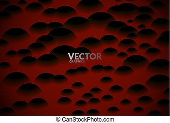 Sphered abstract background - Abstract background with dark...