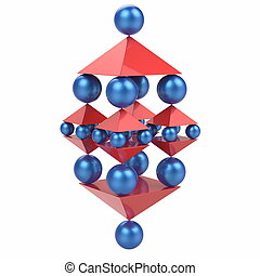 Spheres and Pyramids, Abstract Balance Concept