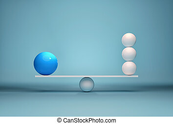 Spheres in balance