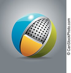 Spherical design element