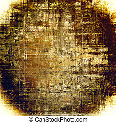 Spherical vintage background, antique grunge backdrop or scratched texture with different color patterns: yellow (beige); brown; purple (violet); white