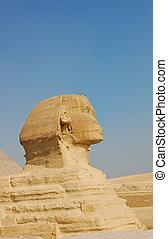 Sphinx at Pyramid of Giza