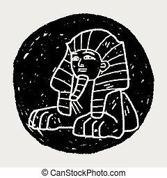 Sphinx doodle