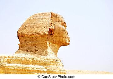 Sphinx in Cairo,Egypt