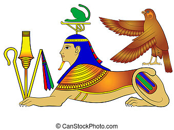 Sphinx - mythical creature - Sphinx - illustrations of the ...