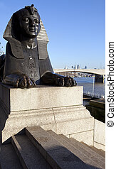 Sphinx on London Embankment