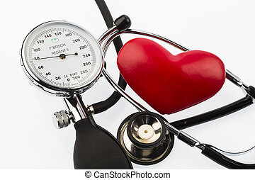 sphygmomanometer and heart