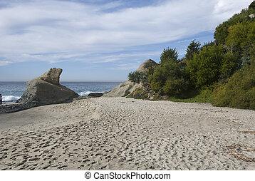 spiaggia, california