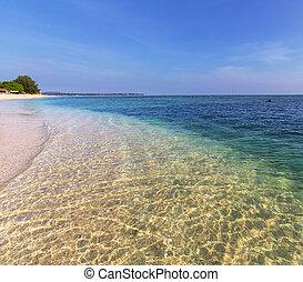 spiaggia,  gili