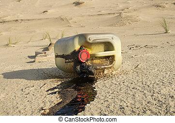 spiaggia, inquinamento