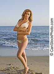 spiaggia, latina, bomba