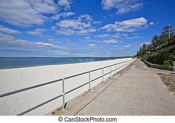 spiaggia, lato