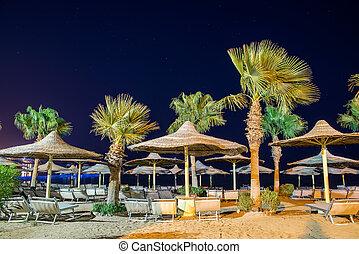 spiaggia, mar rosso