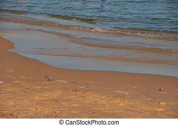 spiaggia, mare, sabbioso