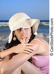 spiaggia, moda
