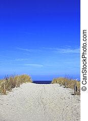 spiaggia, modo