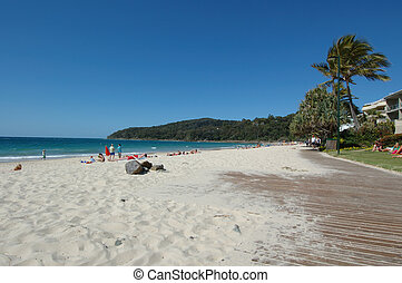 spiaggia, noosa