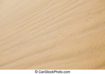 spiaggia sabbia, struttura