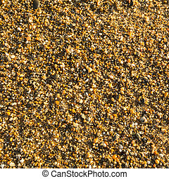 spiaggia sabbia, texture., mare