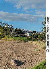 spiaggia, tapeka, verticale, punto