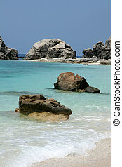spiaggia tropicale, -, tokashiki, isola, okinawa, giappone