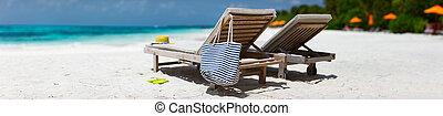 spiaggia tropicale, vacanza