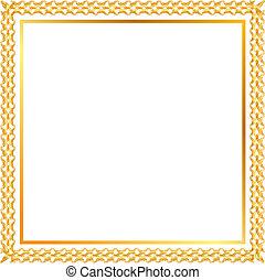 spica gold frame