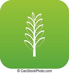 Spica icon digital green