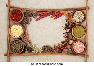Spice and Herb Border