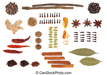 Spice and Herb Selection