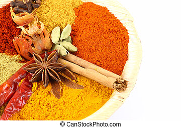 spice powders with other ingredient