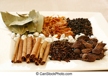 Spice Tray - An assortment of fragrant, richly flavored ...