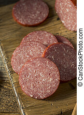 Spiced Savory Hard Salami