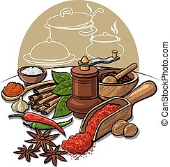 spices and flavors