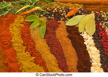 Spices and Herbs - Healthy organic spices and herbs