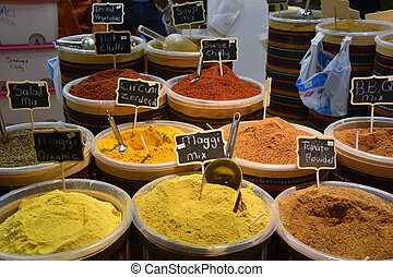 Spices at Global Village in Dubai, UAE