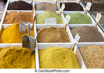 Spices at Souq Wagif, Doha