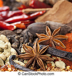 Spices Background