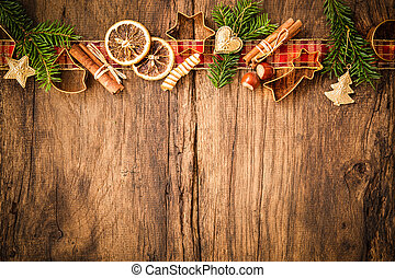 Spices for Christmas cakes