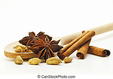 spices for christmas cookies