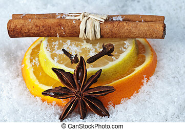 spices for hot wine punch