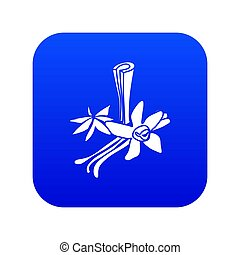 Spices icon blue