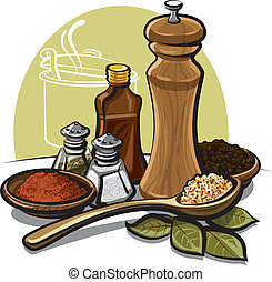 spices - various spices