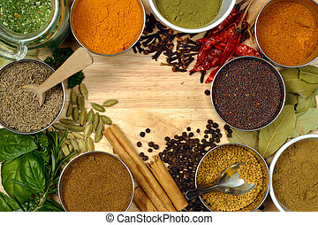 Spices - Image of spices - spice is nice.