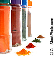 Spices jars