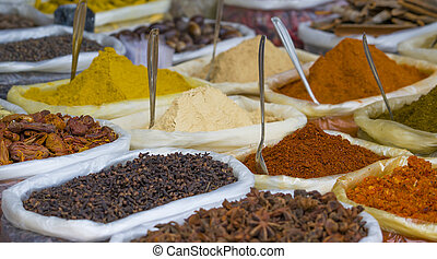 spices of India turmeric mix