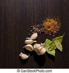 spices on the table