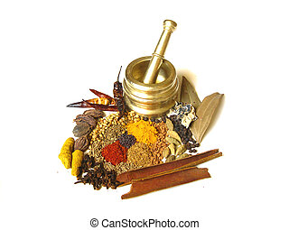 Spices with Mortar 2